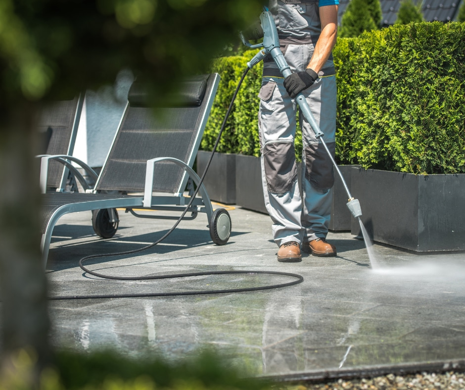 Patio Furniture and Patio cleaning service page